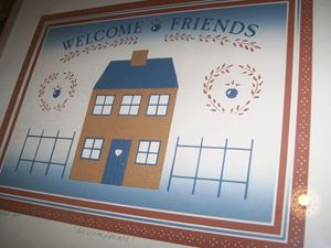 "KARL EISLER LTD.,ED""WELCOME FRIENDS"""