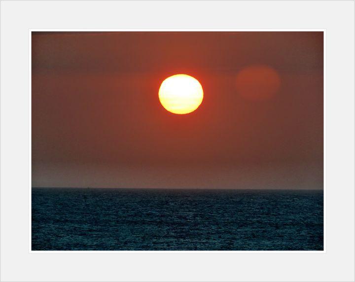 Water sunset - Shalom