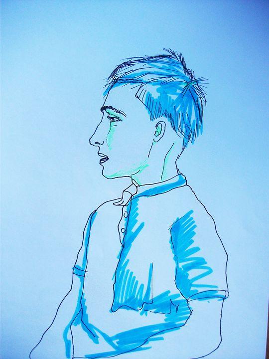 Blue-blue boy - Gella Göring