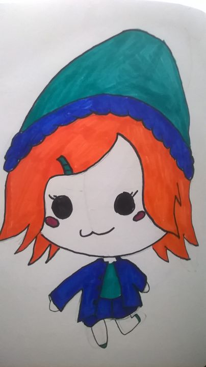 Blue hat Chibi girl - Anime, Anime and More Anime!!!