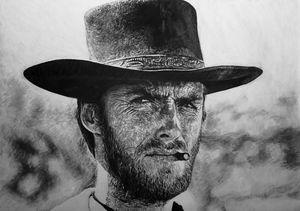 Clint Eastwood Portrait