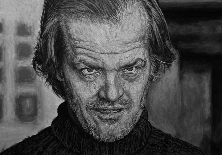 Jack Nicholson Portrait - Samuel J. May