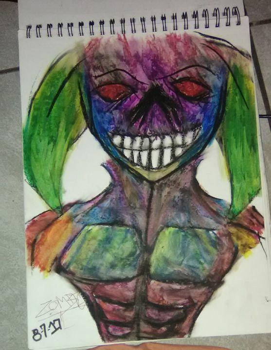 Demon jester - Zombie INC