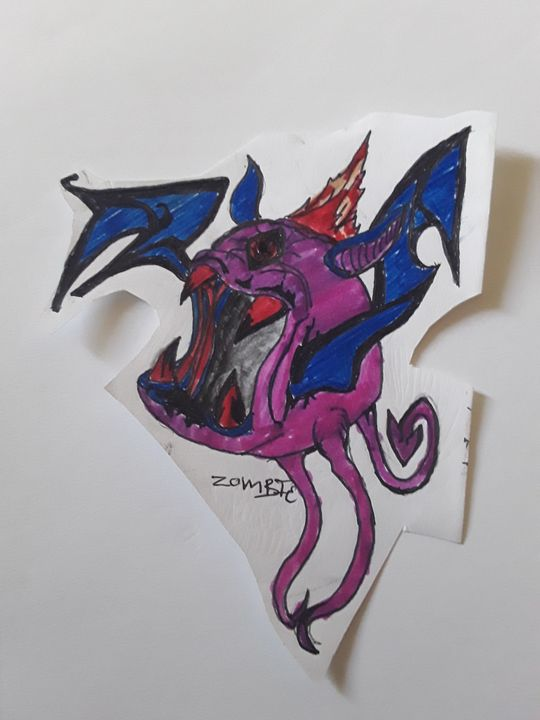 Mutant bat - Zombie INC