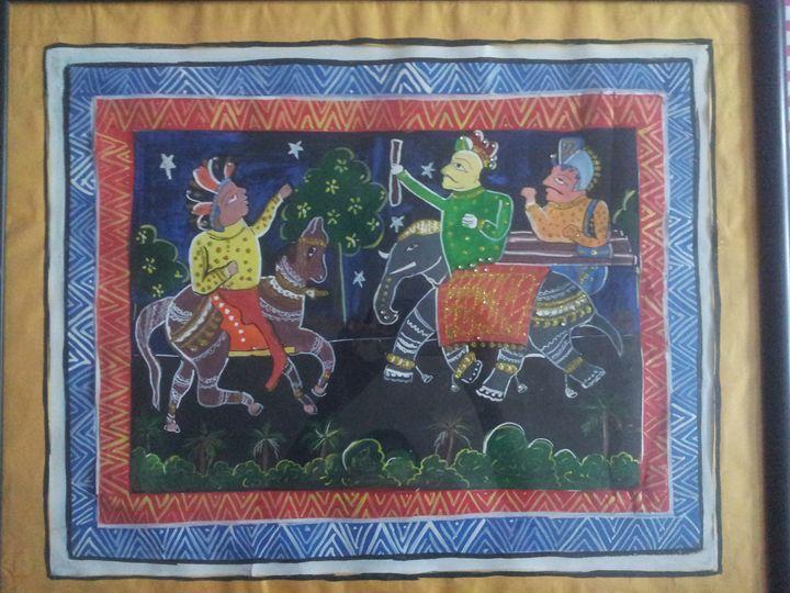 Madhuban painting - Tanaya art gallary