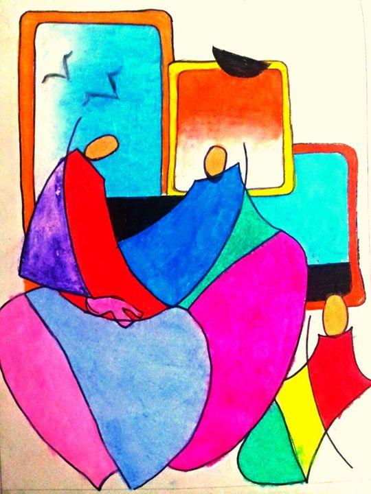 Moedern art - Tanaya art gallary