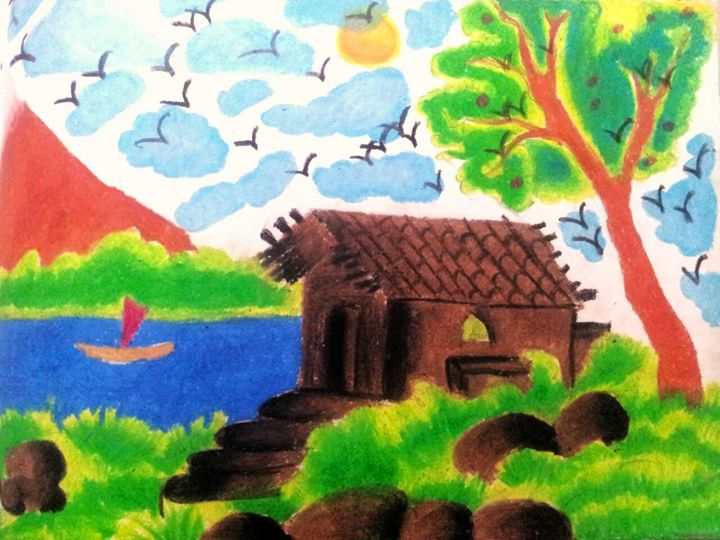 Natural scenery - Tanaya art gallary