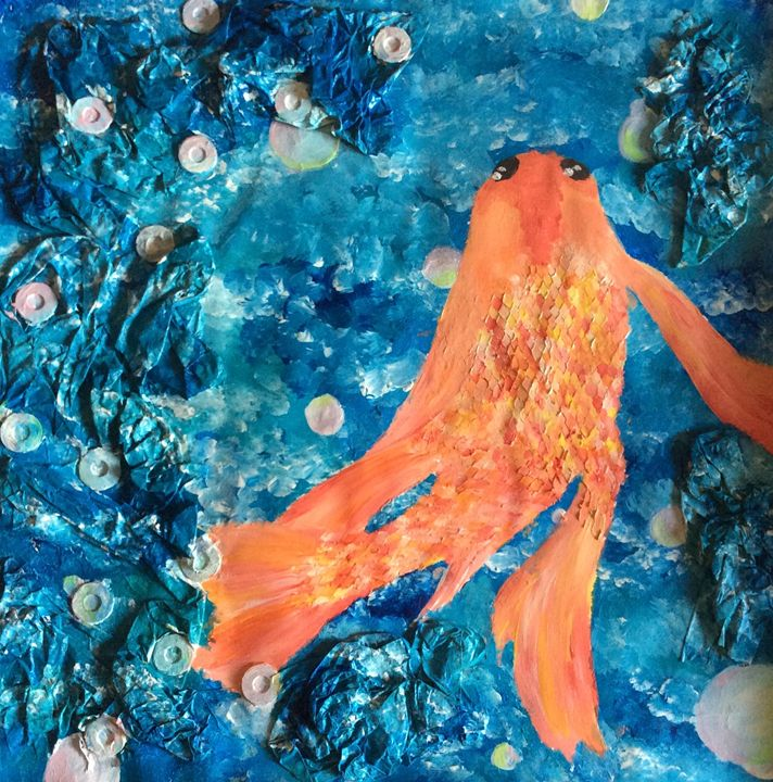 Koi Fish - Alissa Christine