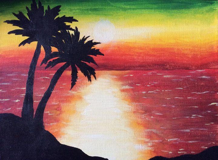 Jamaican Sunset - Alissa Christine