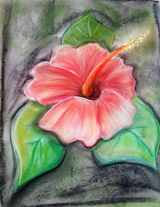 Flor De Maga Puerto Rico Maria Ortiz Paintings Prints Flowers