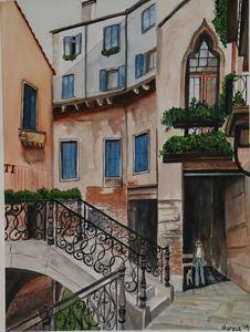 A street view fom Venice