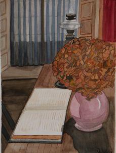 Picasso's Father's desk