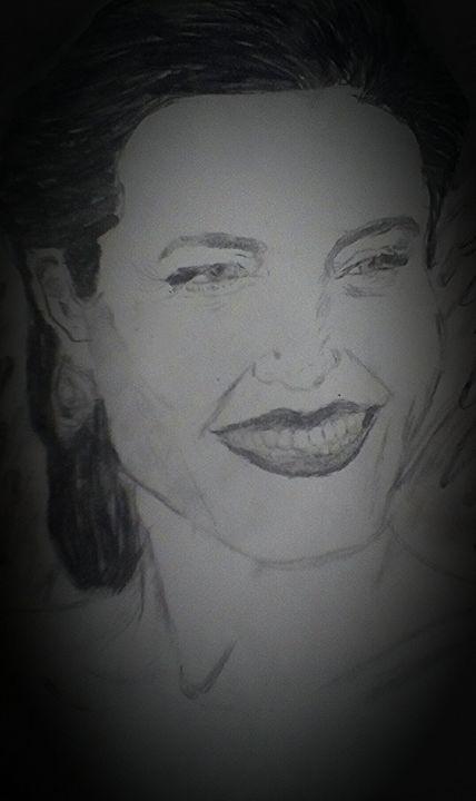Angelina - Rachael's art