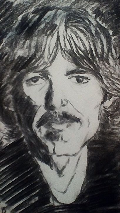 George Harrison - Rachael's art