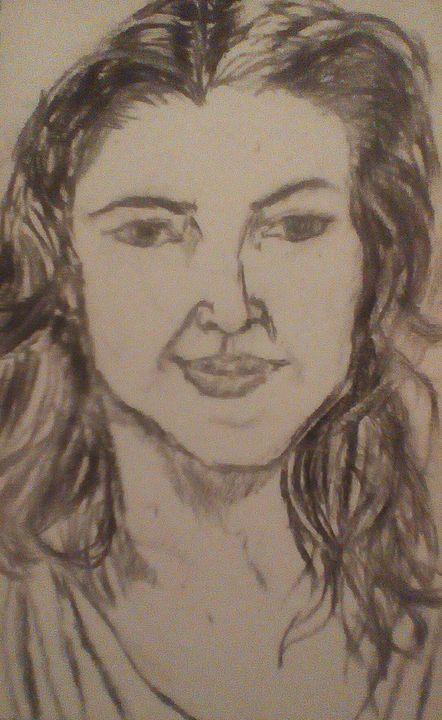 Drew barrymore - Rachael's art