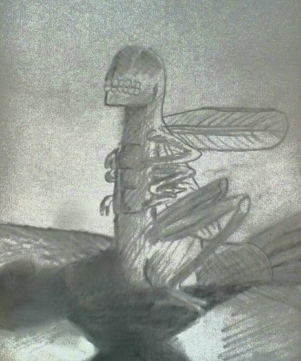 Alien bug - Rachael's art