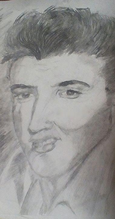 Elvis Presley - Rachael's art