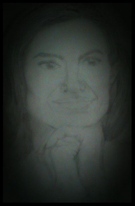 Angelina jolie - Rachael's art