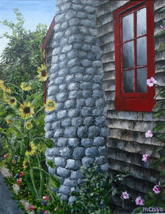 Sunflowers at the Cottage - Maria Collie