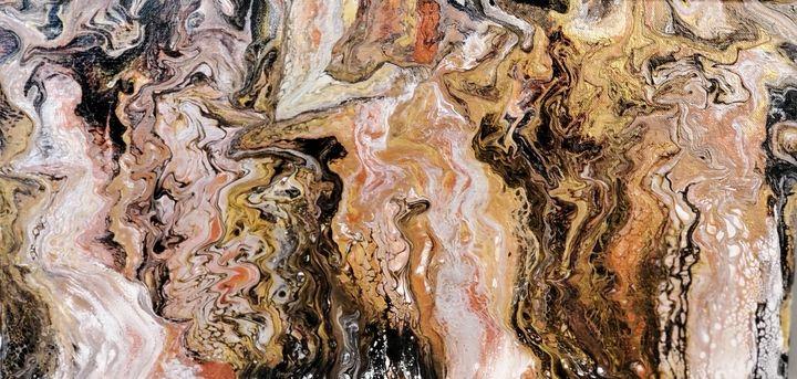 Naked Dancing Wood Nymphs - Pareidolia Abstract Art