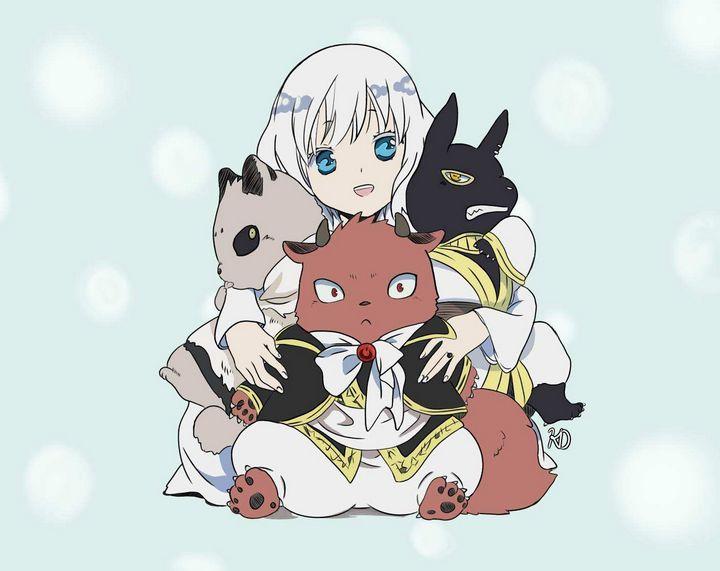 Group Hug - Kojiro's Art