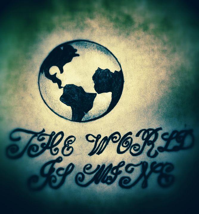 "The World Is"" MINE"" - half Angel"