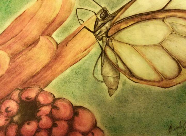 Butterfly (light color) - half Angel