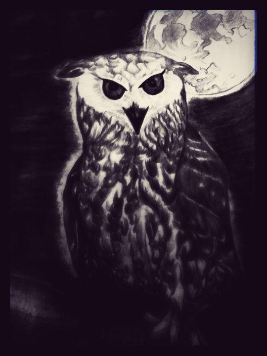 Night Owl (dark) - half Angel