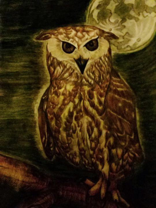 Night Owl (color) - half Angel