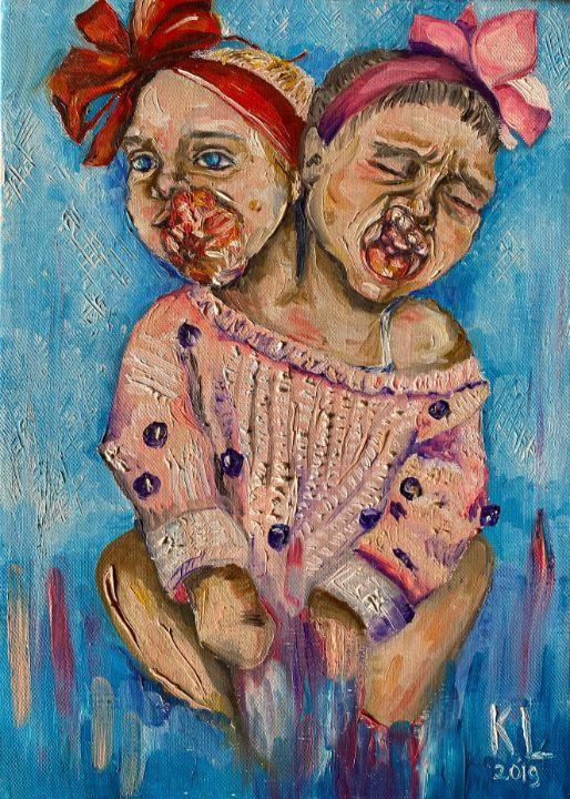 Thanks, mommy - Kate Lishchuk Art