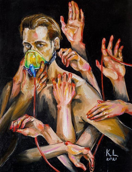 Don't leave me - Kate Lishchuk Art