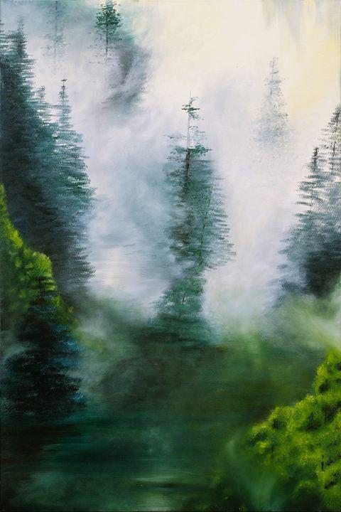 Beyond the Forest - K's Art Studio