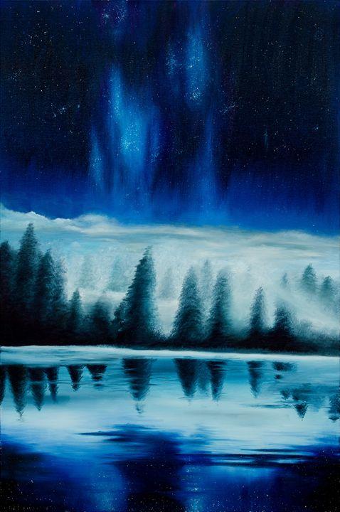 Beyond the Clouds - K's Art Studio