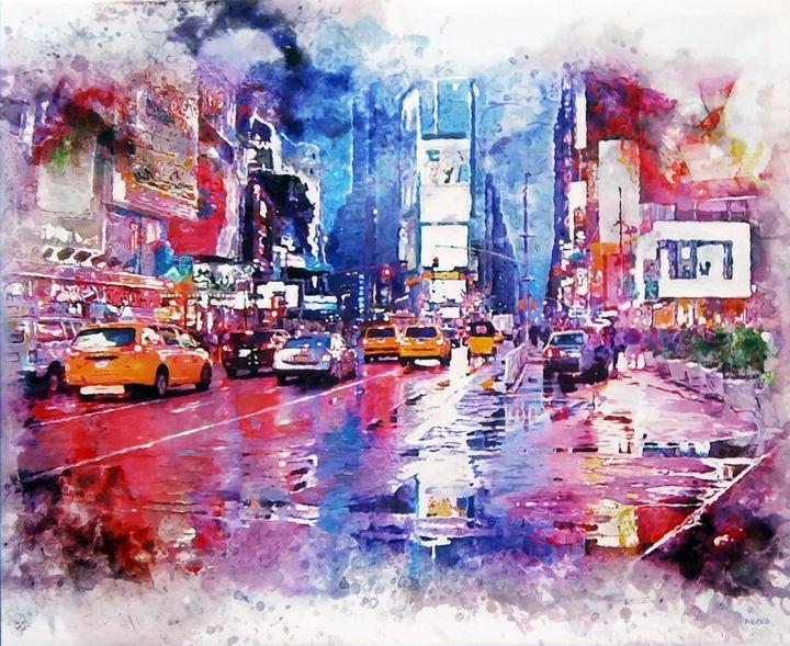 Time Square XXL - PieckoArt