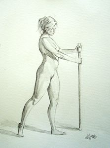 Nude in Wash