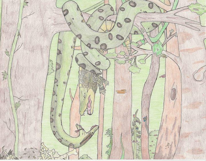 Anaconda's meal - The broken teleporter