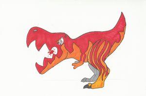 Flaming rex