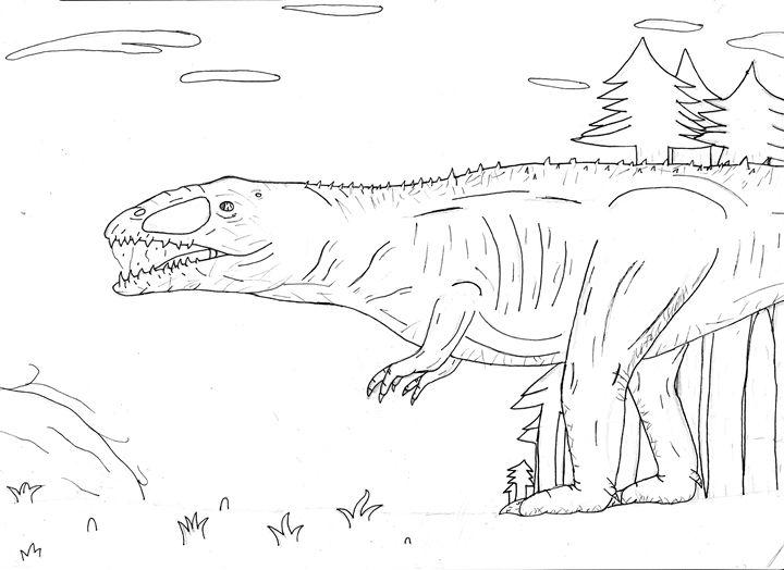 carchodontosaurus - The broken teleporter