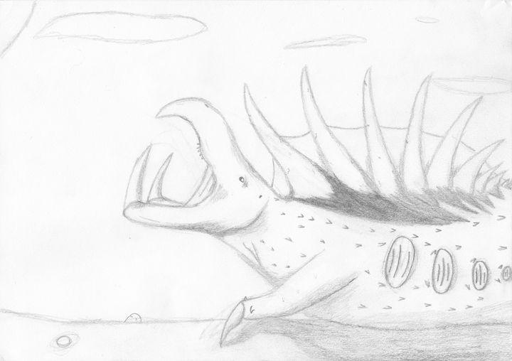 basking rudosaurus - The broken teleporter