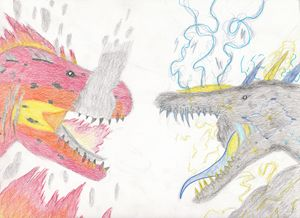 flaming rex vs lightningosaurus - The broken teleporter