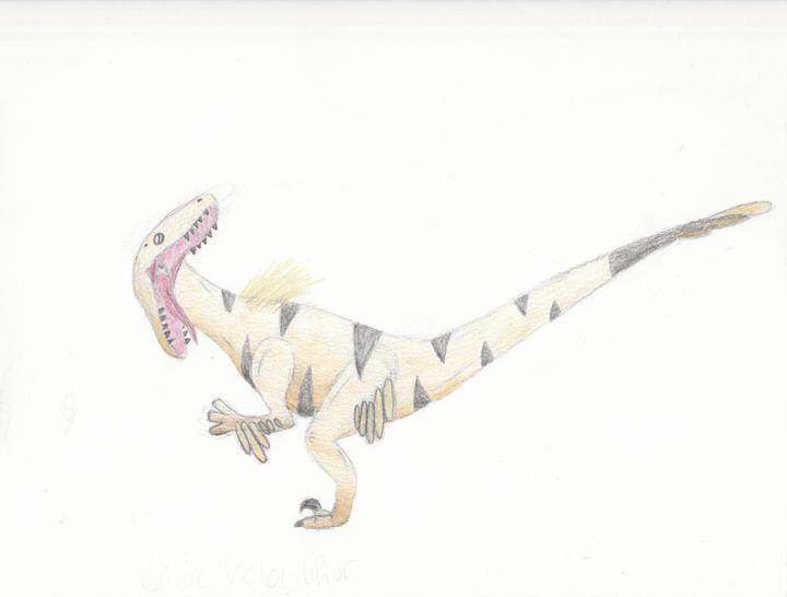 the bright velociraptor - The broken teleporter