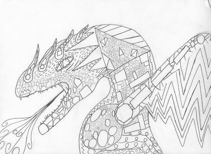 the infinitely shaped dragon - The broken teleporter