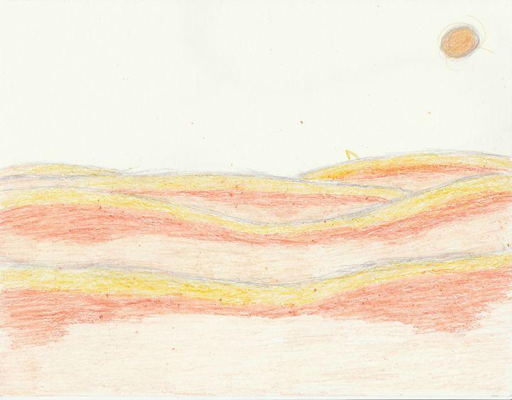 clay desert - The broken teleporter