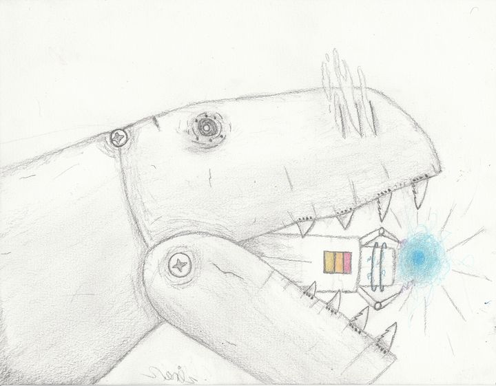 Cyborg - The broken teleporter
