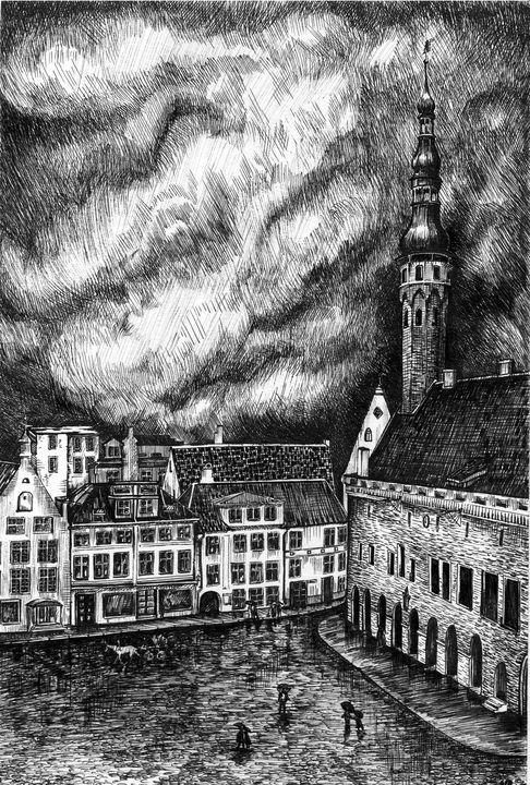 Tallinn Old Town - Nadineru