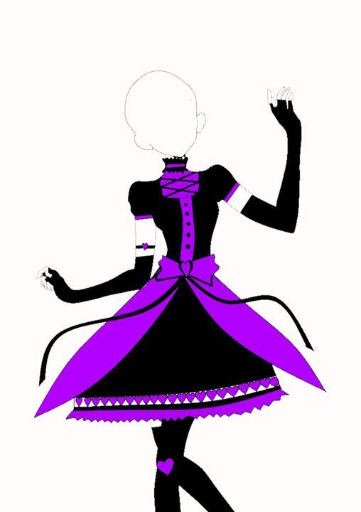Gothic Loli Idol outfit design - Haru's Imajin
