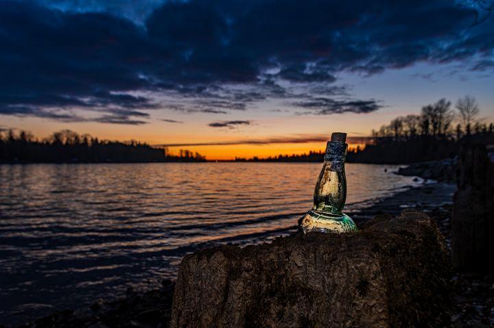 Dream in a bottle. - John Daley Photography