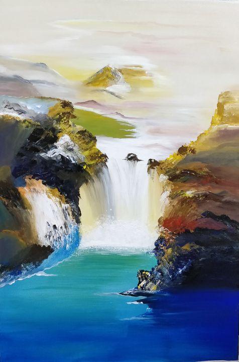 Fall like waterfall - Manisha Patle