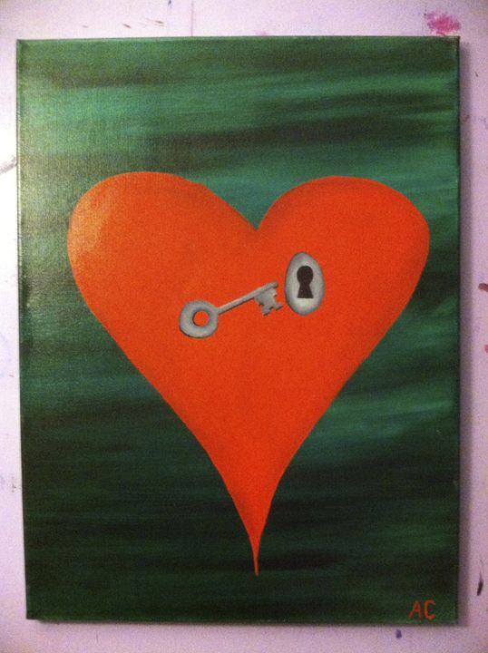 A key to the heart - Paintings by Adam Cottone