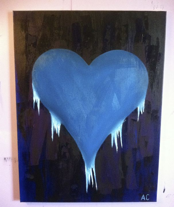 A Cold Heart - Paintings by Adam Cottone